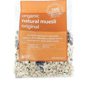 Muesli Natural Refill Organic (Bag)