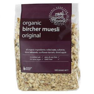 Muesli Bircher Organic (Bag)
