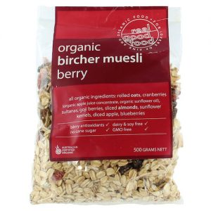 Muesli Berry Bircher Organic (Bag)