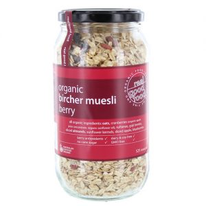Muesli Berry Bircher Organic (Jar)