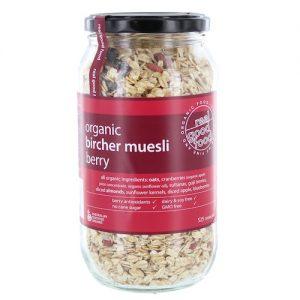 Muesli Berry Bircher Organic (Jar)