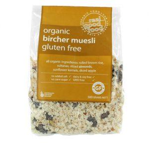 Muesli Bircher Organic Gluten Free (Bag)