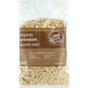 Oats Rolled Premium Aussie Organic