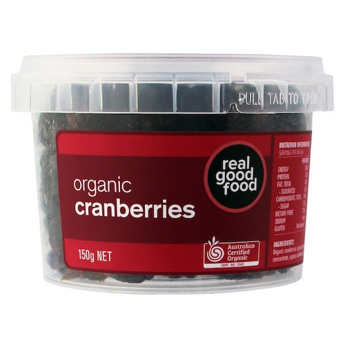 Cranberry Dried Organic (Tub)