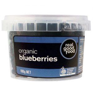 Blueberry Dried Organic (Tub)