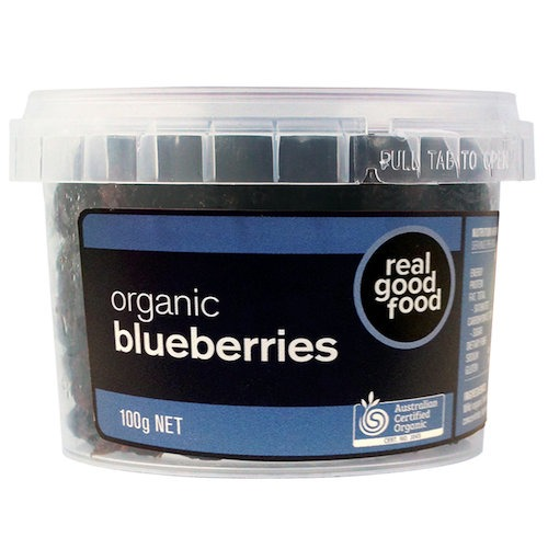 Blueberry Dried Organic (Tub)